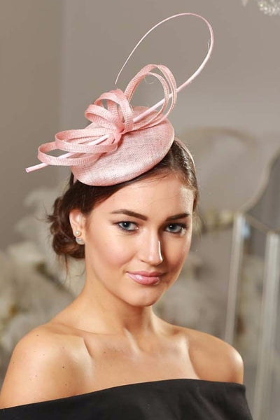 Holly Pink Fascinator - LadyVB   s.r.o - 2