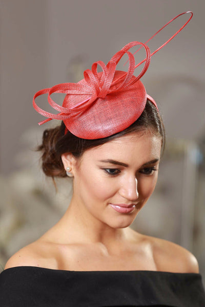 Holly Coral Fascinator - LadyVB   s.r.o - 2