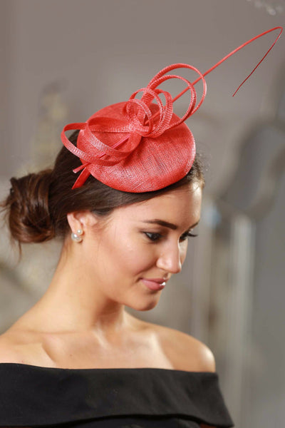 Holly Coral Fascinator - LadyVB   s.r.o - 3