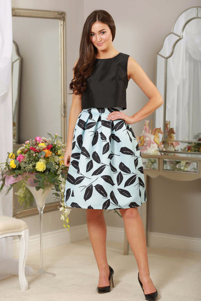 Blue & Black Skirt - LadyVB   s.r.o - 1