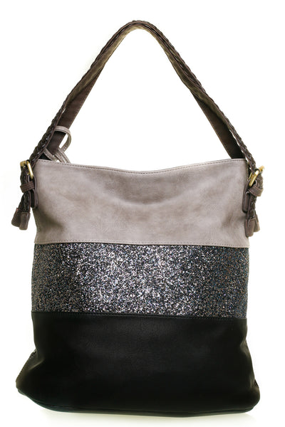 Harvey Narrow Black Shoulder Handbag - LadyVB   s.r.o - 2
