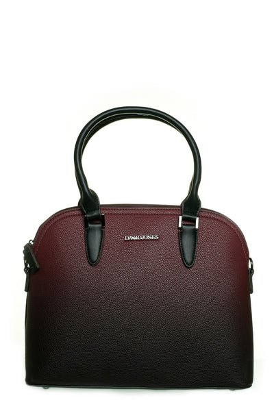 Tracy Ombre Wine and Black Handbag - LadyVB   s.r.o - 1