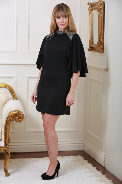 Mirabelle Black Detail Dress - LadyVB   s.r.o - 2