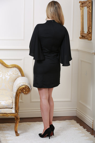 Mirabelle Black Detail Dress - LadyVB   s.r.o - 3