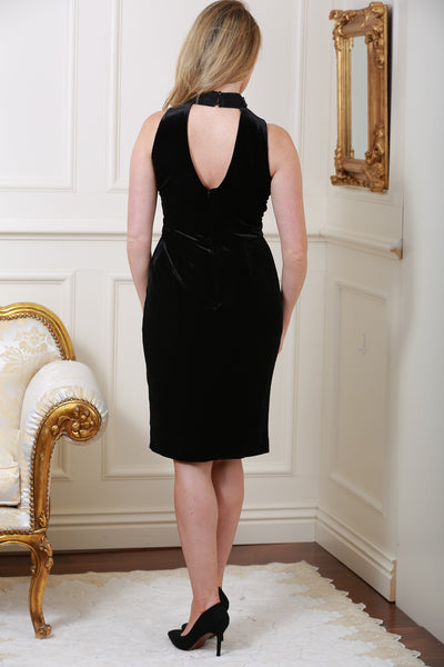 Isabella Velvet Gem Dress - LadyVB   s.r.o - 3