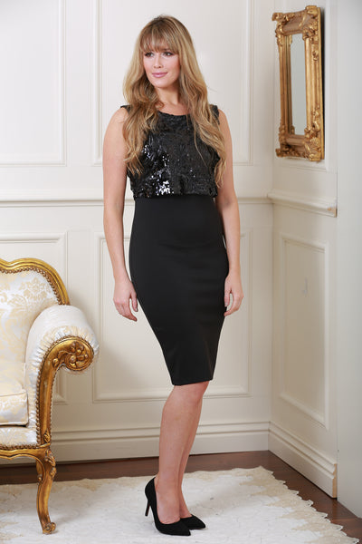 Hillary Sequin Dress - LadyVB   s.r.o - 1