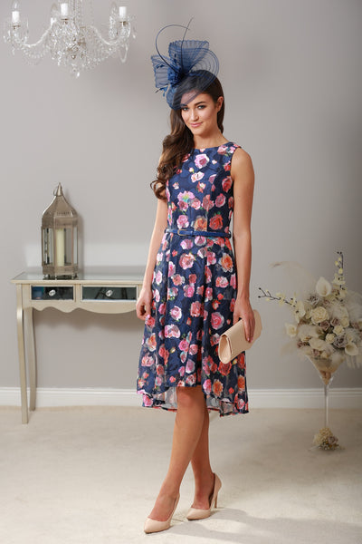Niamh Rose Print Dress - LadyVB   s.r.o - 1