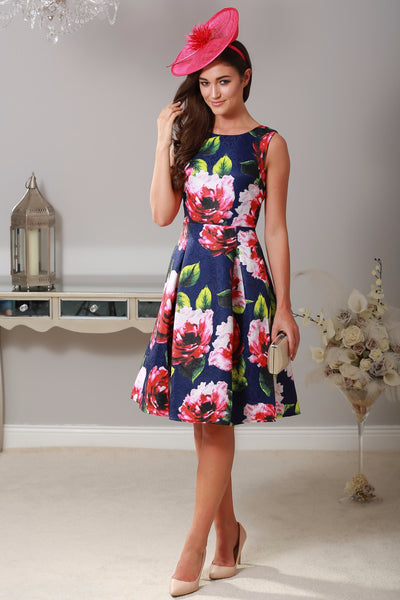 Eniko Floral Dress - LadyVB   s.r.o - 1