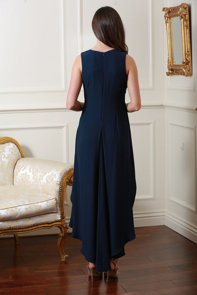 Philippe Navy Jumpsuit - LadyVB   s.r.o - 2