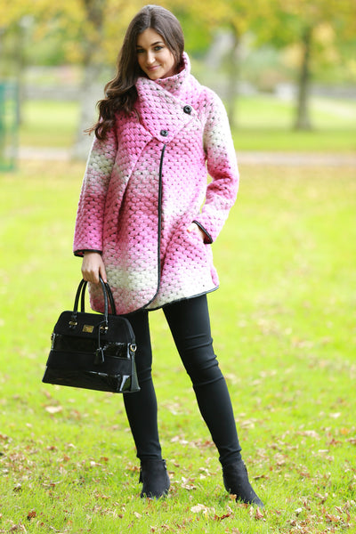 Mairead Wool Cardigan / Coat - LadyVB   s.r.o - 6