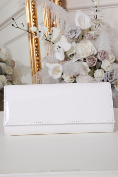 White Stitch Clutch Bag - LadyVB   s.r.o - 1