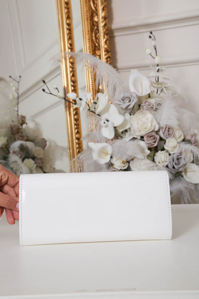 White Stitch Clutch Bag - LadyVB   s.r.o - 2