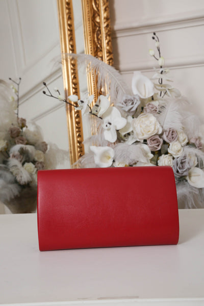 Red Envelope Matte Clutch Bag - LadyVB   s.r.o - 2
