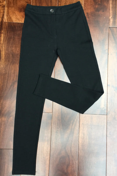 Black Pocket Leggings pants - LadyVB   s.r.o - 1