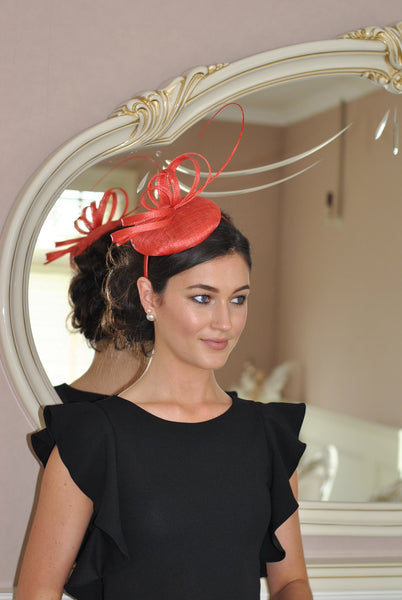 Holly Coral Fascinator - LadyVB   s.r.o - 5