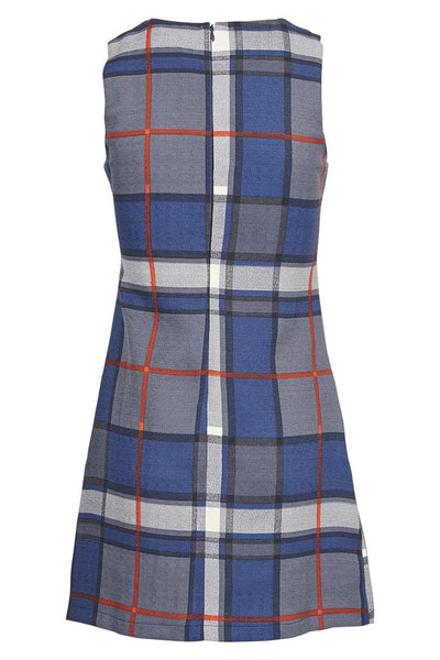 Becky Checked Sleeveless Pinafore Dress - LadyVB   s.r.o - 5