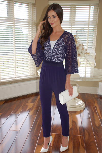 Carly Navy Jumpsuit - LadyVB   s.r.o - 1