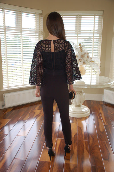 Carly Black Jumpsuit - LadyVB   s.r.o - 2