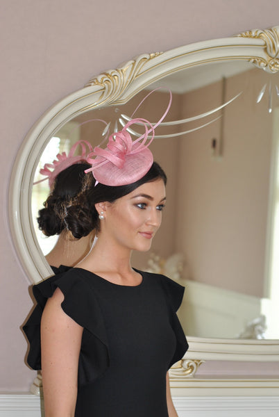 Holly Pink Fascinator - LadyVB   s.r.o - 4