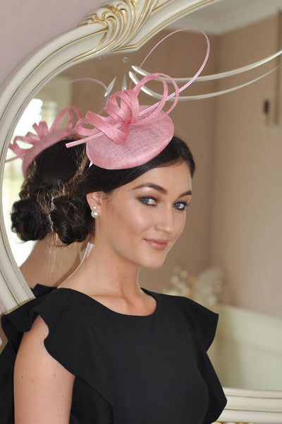 Holly Pink Fascinator - LadyVB   s.r.o - 1