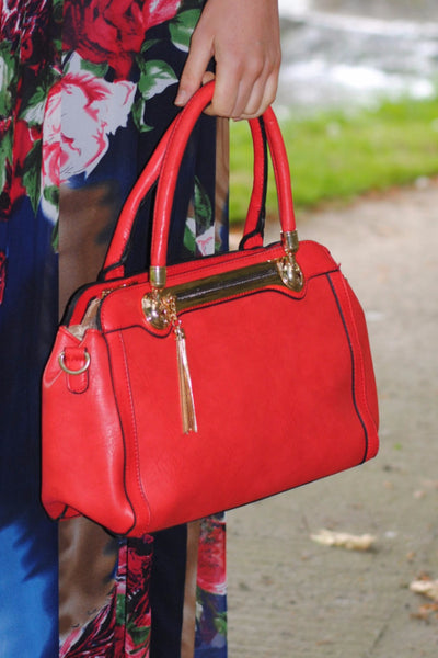 Red Handbag - LadyVB   s.r.o - 2