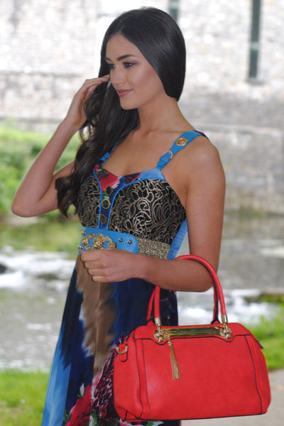 Red Handbag - LadyVB   s.r.o - 3