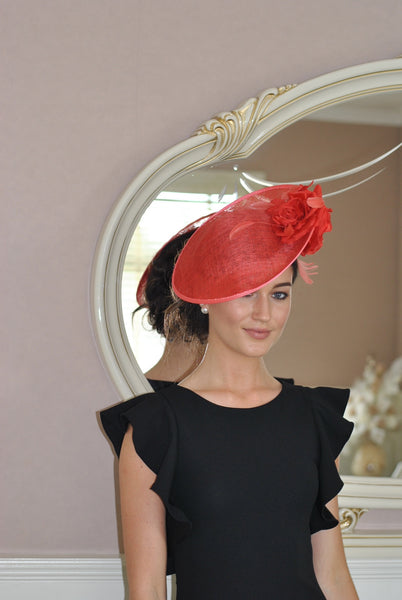 Heidi Burnt Fascinator - LadyVB   s.r.o - 7