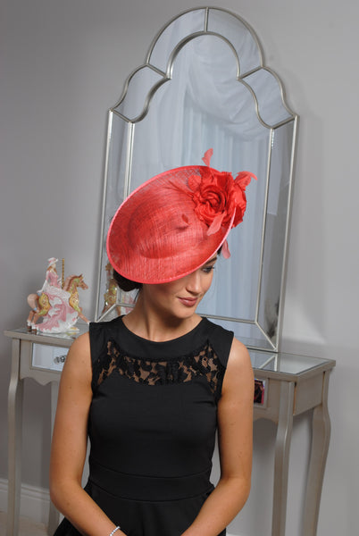 Heidi Burnt Fascinator - LadyVB   s.r.o - 6