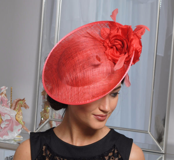 Heidi Burnt Fascinator - LadyVB   s.r.o - 5