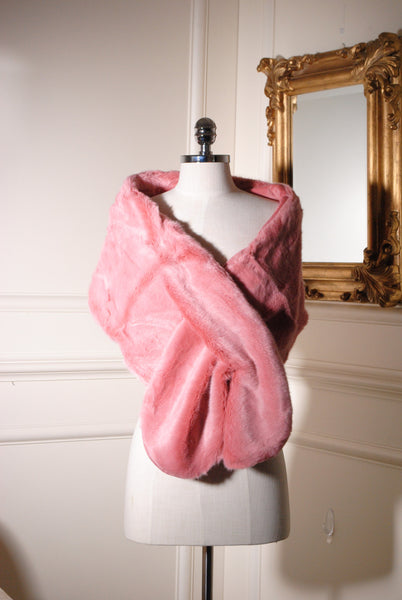 Holly Pink Fur Stole - LadyVB   s.r.o - 3