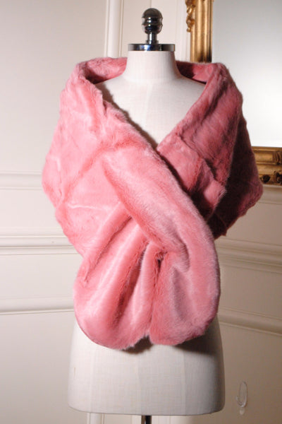 Holly Pink Fur Stole - LadyVB   s.r.o - 2