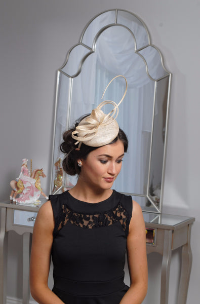 Holly cream fascinator m28 - LadyVB   s.r.o - 4
