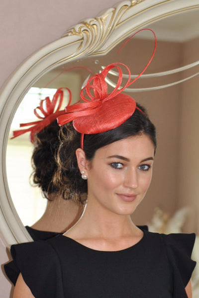 Holly Coral Fascinator - LadyVB   s.r.o - 1