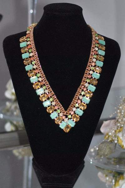Mint necklace Sally - LadyVB   s.r.o - 1