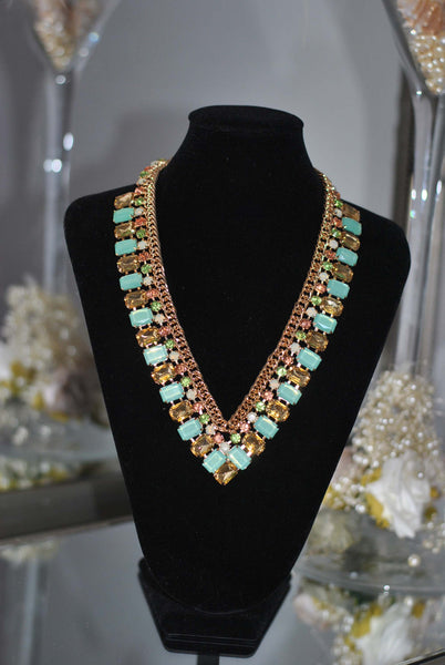 Mint necklace Sally - LadyVB   s.r.o - 3