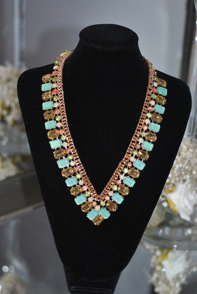 Mint necklace Sally - LadyVB   s.r.o - 4