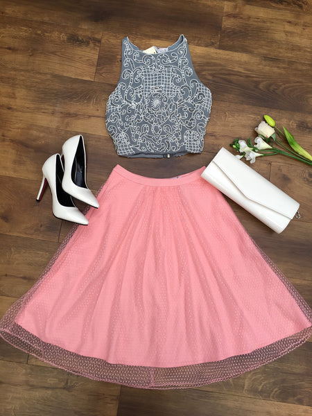Peach Skirt - LadyVB   s.r.o