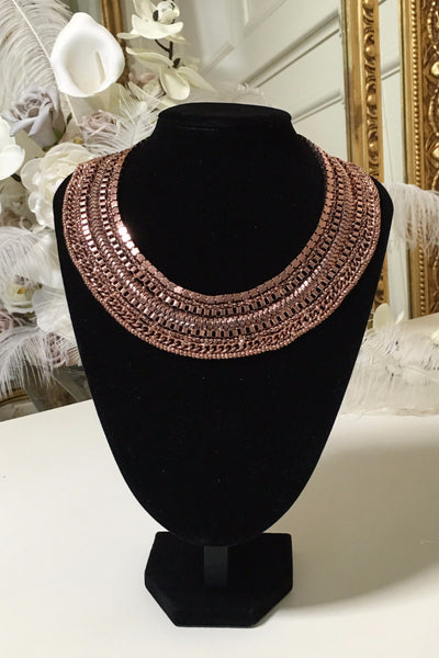 Mandy Rose Gold Necklace - LadyVB   s.r.o - 1