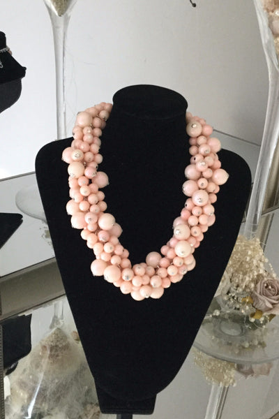 Berry Pink Necklace - LadyVB   s.r.o