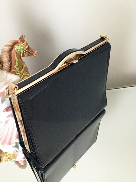 Navy Box Clutch Bag - LadyVB   s.r.o - 2