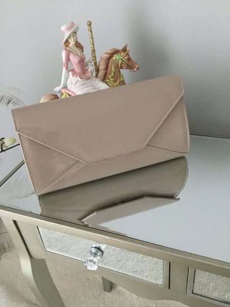 Khaki Large Envelope Clutch Bag - LadyVB   s.r.o - 1
