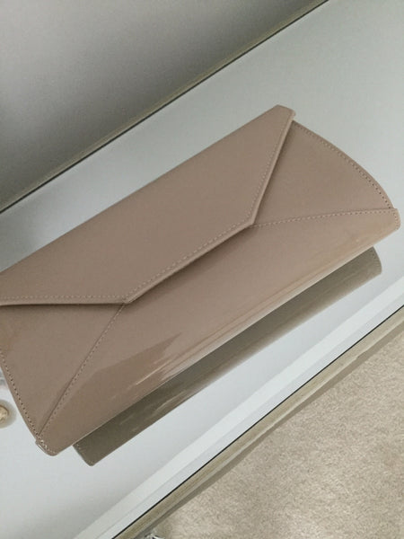 Khaki Large Envelope Clutch Bag - LadyVB   s.r.o - 2