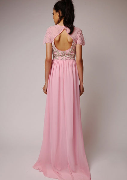 Virgos Lounge Laima Pink Dress - LadyVB   s.r.o - 11