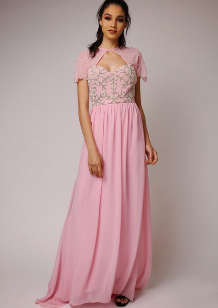 Virgos Lounge Laima Pink Dress - LadyVB   s.r.o - 7
