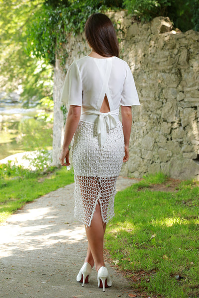 Julianne White Skirt - LadyVB   s.r.o - 2