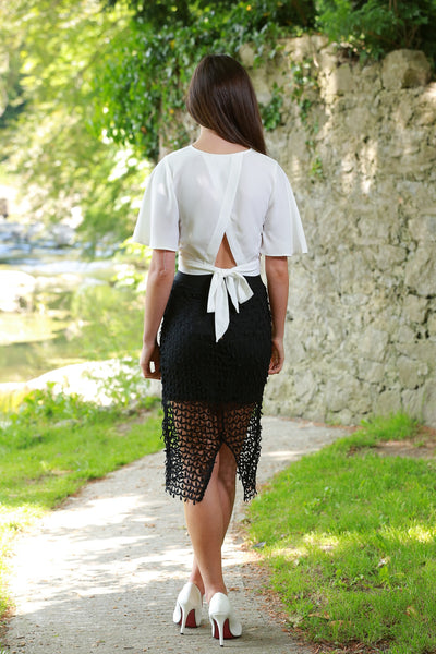 Julianne Black Skirt - LadyVB   s.r.o - 2