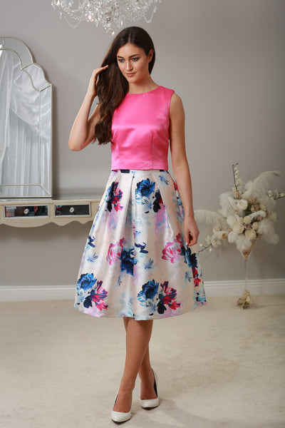 Stacey Swing Floral Skirt - LadyVB   s.r.o - 1