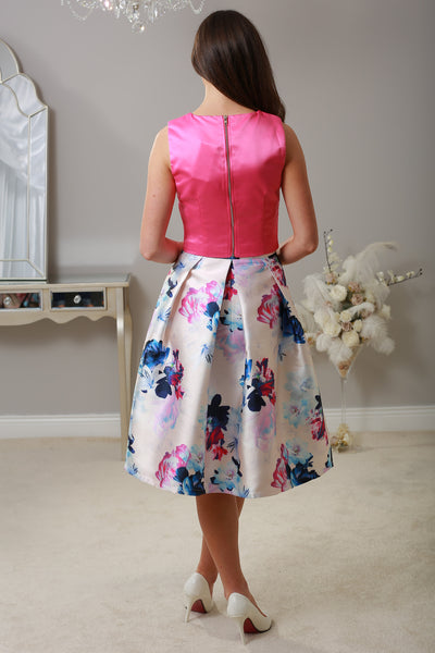 Stacey Swing Floral Skirt - LadyVB   s.r.o - 2