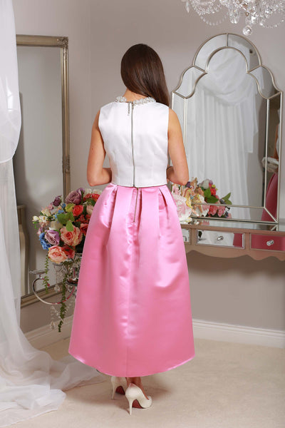 Julie High Satin Skirt - LadyVB   s.r.o - 4