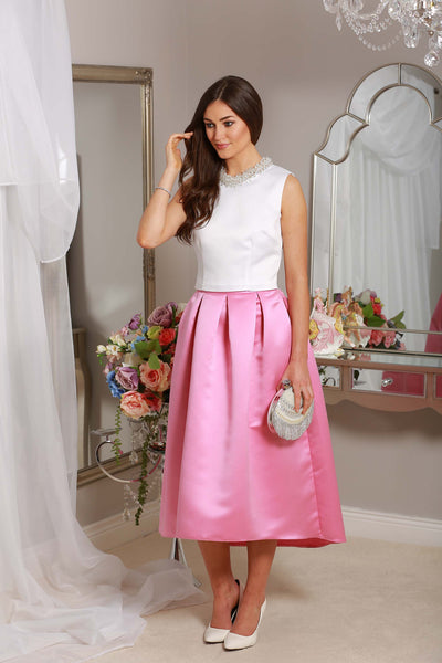 Julie High Satin Skirt - LadyVB   s.r.o - 2